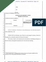 05-27-2016 ECF 470 USA v JASON WOODS - Jason Woods Motion to Sever