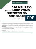 Ingeborg Maus e o Judiciário como Superego da Sociedade - Revista CEJ