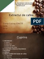 Extractul de cafea