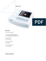 Ecg Machine Contec Type 1200g (1)