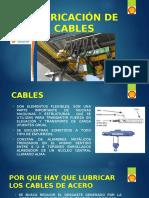 Lubricación de Cables
