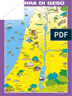 Cartina Della Terra Di Gesu