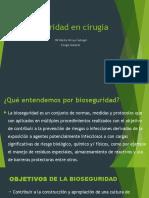 Bioseguridad en Cirugia