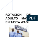 Rotacion Del Adulto Mayor en Tayta Wasi