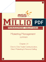 SUMMARY Manajemen Pemasaran Chapter 14