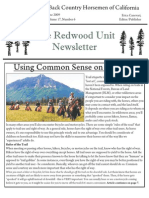 Redwood Unit Newsletter, June 2009 ~ Back Country Horsemen of California
