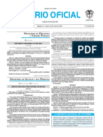Diario oficial de Colombia n° 49.885. 26 de mayo de 2016