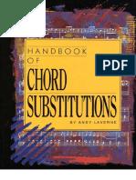 Handbook of Chord Substitutions