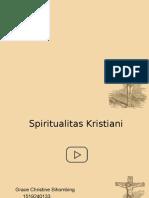 Spiritualitas Kristiani Kelompok 1