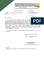Surat Ke BPD