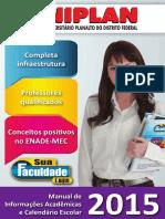 UNIPLAN - Calendário Acadêmico.2015