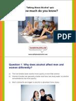 Dvd Alcohol Quiz