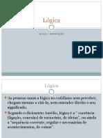Lógica aula1 definição