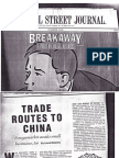 Trade Routes to China