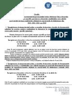 Grafic Inregistrare ISJ_ Dosare Detasare Concurs Specific Si Suplinire Note Concurs Titularizare 2013_2012_2011_2010_ Mai 2016