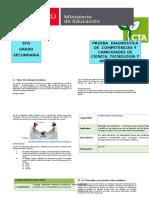 Manual de corrección evaluación diagnóstica CTA - 5°