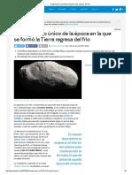 C_2014 S3, El Cometa Primigenio Que Regresó Del Frío
