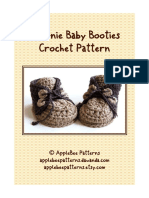 Applebee Patterns - Brownie Baby Booties