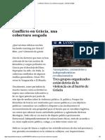Conflicto en Gràcia, Una Cobertura Sesgada – JAQUE DOBLE
