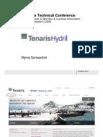 Microsoft PowerPoint - 01-05 Tenaris Internet E-mail Box LIDS