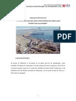 Molo Retenedor de Arena del Puerto de Salaverry