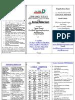 DASH Course Calender AWS CWI 20094[1]