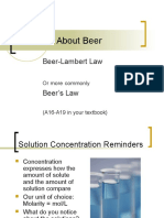 Beers Law