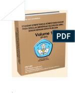 Competency Standard & Basic Competency  Vol 1 (01 to 31) PDF Format