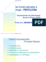 Principios Basicos Da Teoria Comportamental - Profa. Dra. Denise Nicodemo