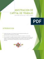 Proyecto Capital de Trabajo Elias Fraire