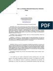 Sobre los límites a la Prueba Preconstituida en el proceso penal | Tesseract - Cualificación en Ciencias Penales