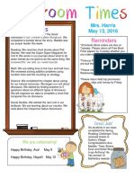 may 13 newsletter