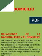 El Domicilio