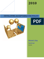 Developing Acceptable Use Policy