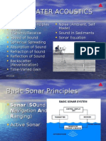 Principles of Underwater Acoustics