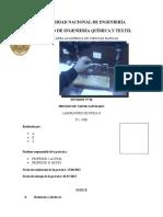 RESULTADOS DEL 6TO INFORME FISICA II