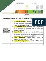 Tema La Prehistoria1º Eso