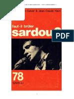 Faut-il Bruler Sardou