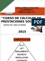Curso_calculos de Prestaciones Sociales 2015