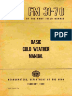 (1968) FM 31-70 Basic Cold Weather Manual