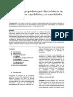 Medición de propiedades petrofísicas básicas en medios porosos consolidados y no consolidados.