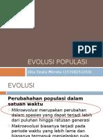 Evolusi Populasi