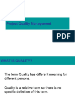 Session-1 Project Quality Management
