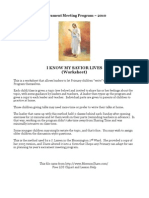2010 Primary Presentation Worksheet