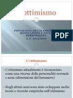 L'Ottimismo (Le Fonti Del Benessere)