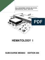 Hematology i