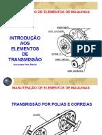 Apresentação - Elementos de Transmissão 1 - SENAI de LAGES.