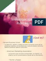 Investigación y Tipos de Mercado