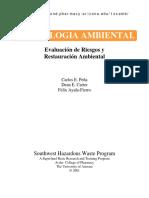 Toxicología Ambiental - Evaluación de Riesgos y Restauración Ambiental
