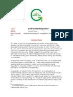 PDK Environmental Justice Dl